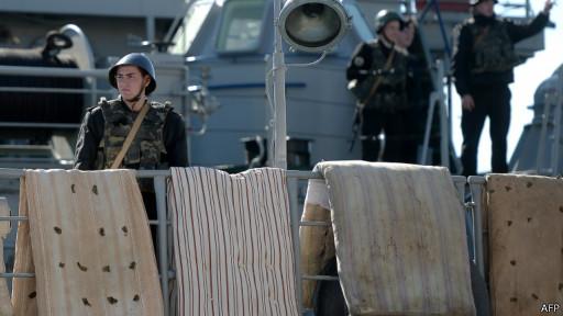 На борту украинского военного корабля