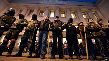 Protestas en la Plaza Maidan