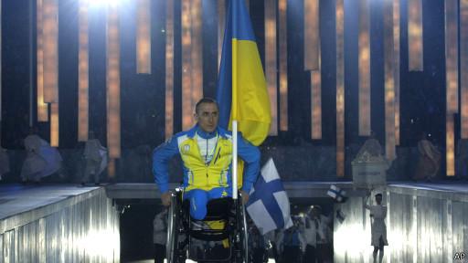 Открытие паралимпиады
