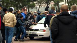 Нападение пророссийских активистов