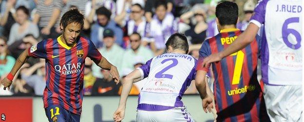 برشلونة يسعى لاستعادة توازنه في الدوري الإسباني