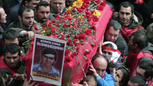 Funeral de Berkin Elvan