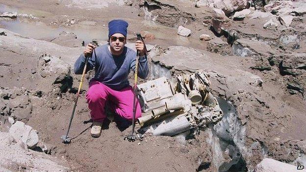 Альпинист,нашедший самолет