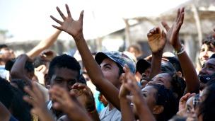 Jóvenes afromexicanos en Oaxaca, México. Foto: cortesía organización África AC