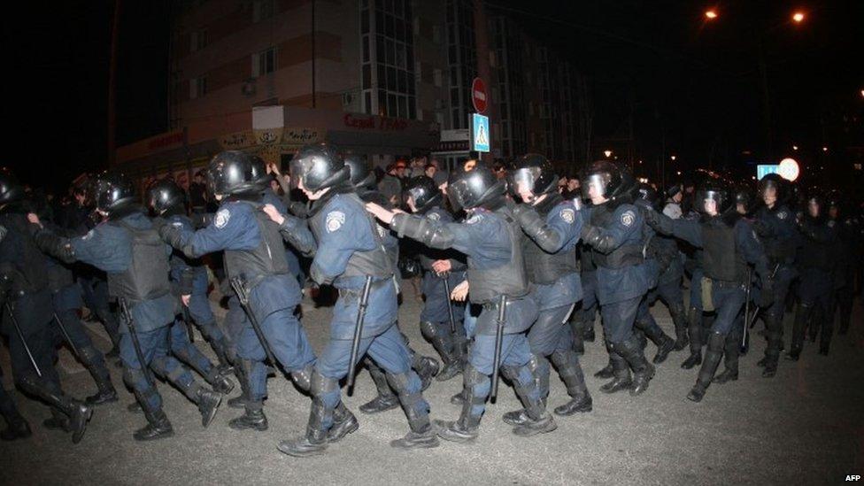 Кордон полиции