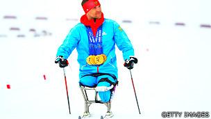 Atleta ruso Roman Petushkov