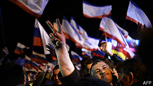 Celebración en Simferopol, Crimea