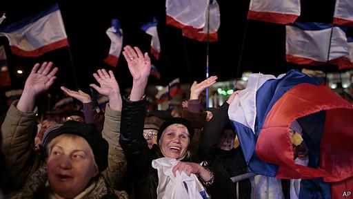 Celebraciones en Crimea