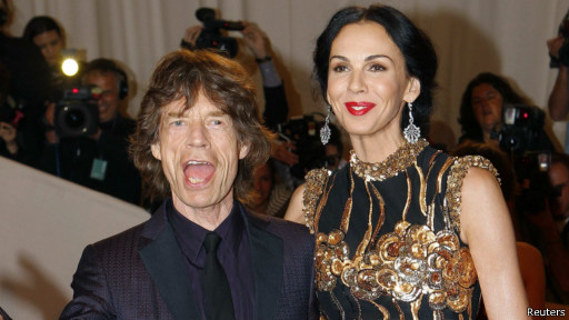 "Mick Jagger dan L""Wren Scott"