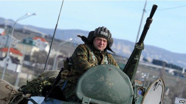 Soldado na Crimeia (AFP)