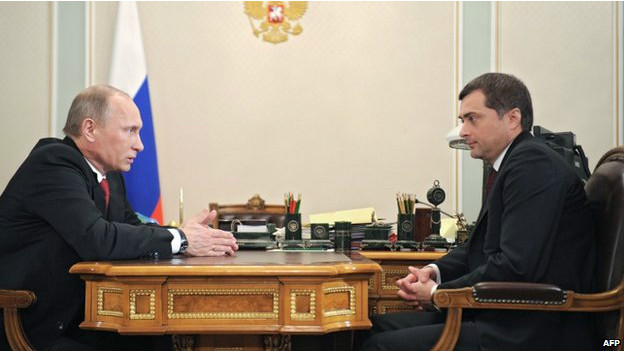 Putin y Sarkov