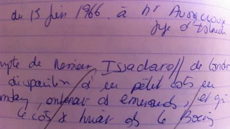 Notas de Francoise Rey
