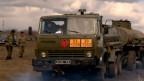 Ejército de Ucrania en la frontera con Rusia