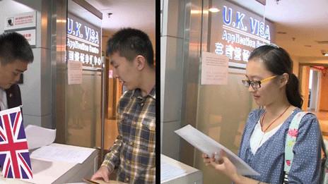 中國學生申請英國簽證視頻短片