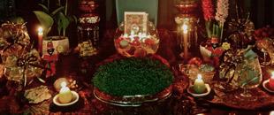A traditional Haft Seen arrangement