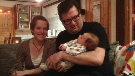 Ed Houben con su hija número 98.