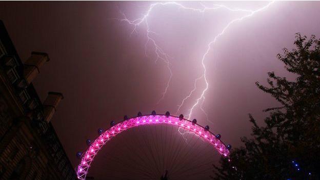 Rayo en Londres