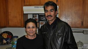 Manuel Fonseca y su esposa, Betsabé
