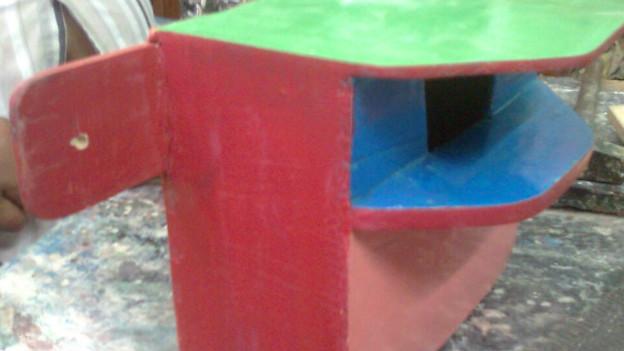 चिरंजी लाल खन्ना का बनाया गौरैया का घोंसला