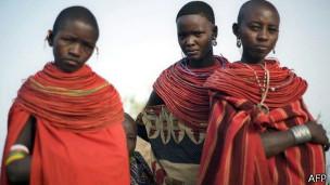 mujeres keniatas