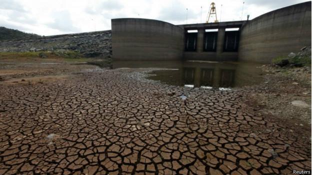 seca no sistema Cantareira