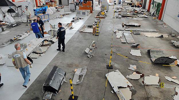 Restos del vuelo Air France 447