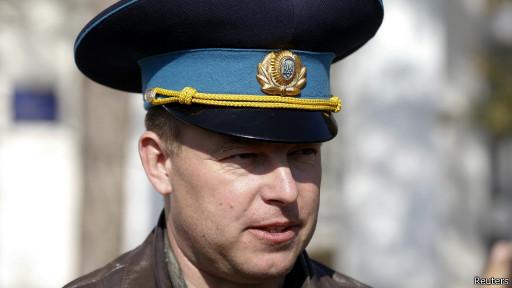 Полковник Юлий Момчур