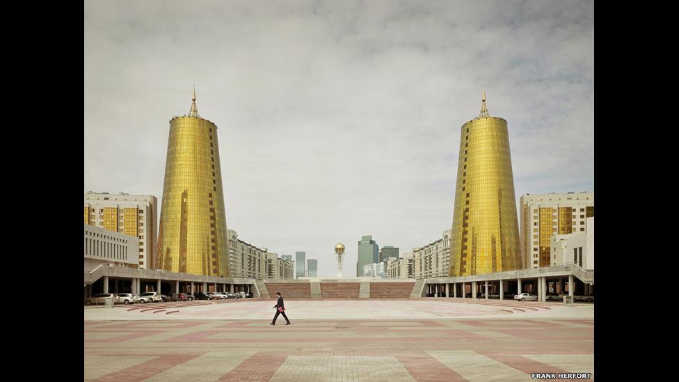 Правительственные здания, Астана, 2012