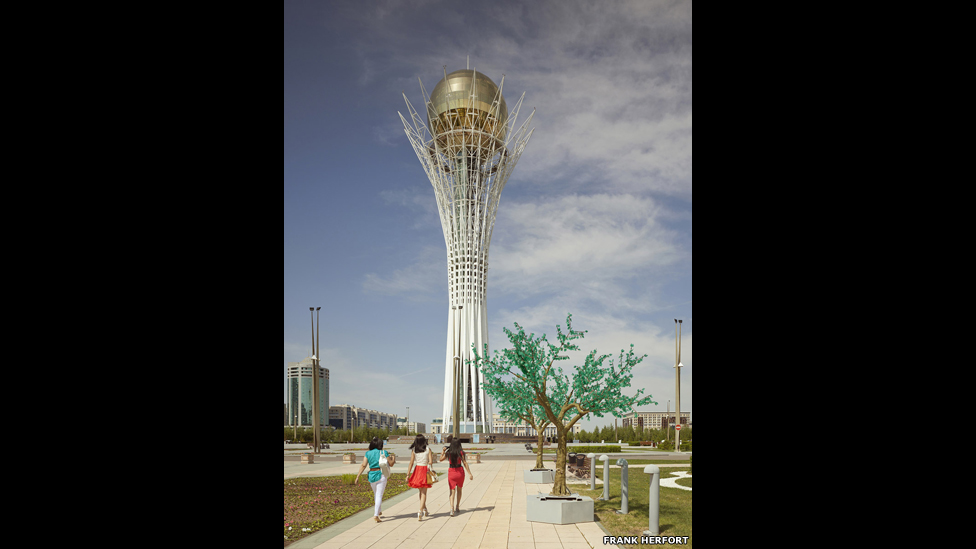Башня Байтерек, Астана, 2012