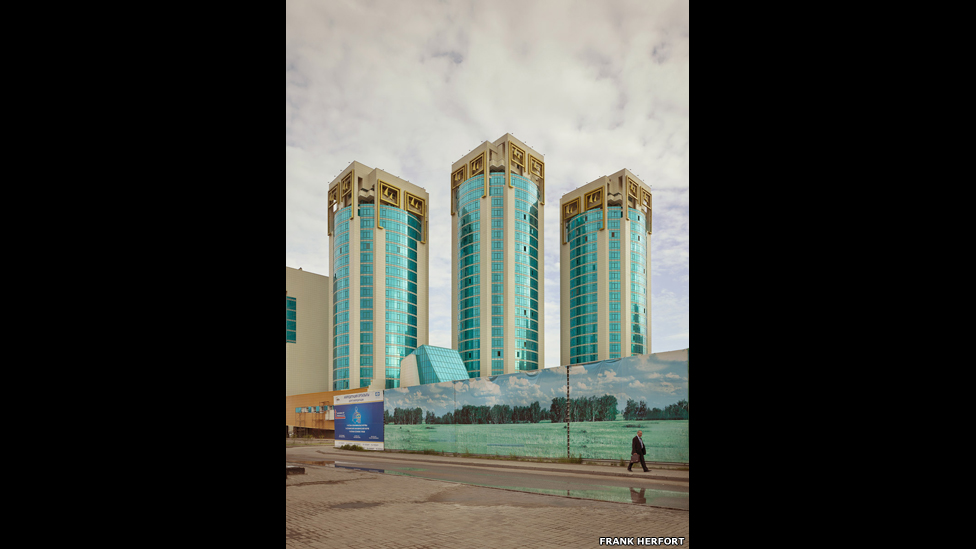 Лазурный квартал, Астана, 2012