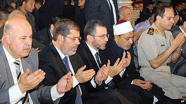 السيسي + مرسي