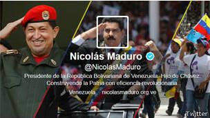 Twitter de Maduro