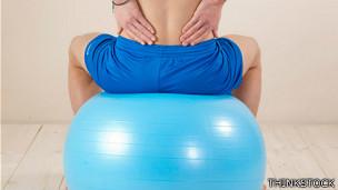 Ilustración de dolor de espalda