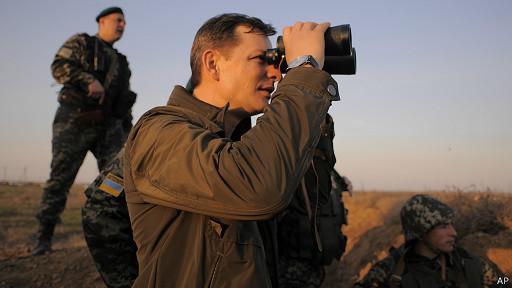 На восточной границе Украины