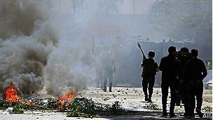 La policía en Egipto ha lanzado gases lacrimógenos a simpatizantes de los Hermanos Musulmanes