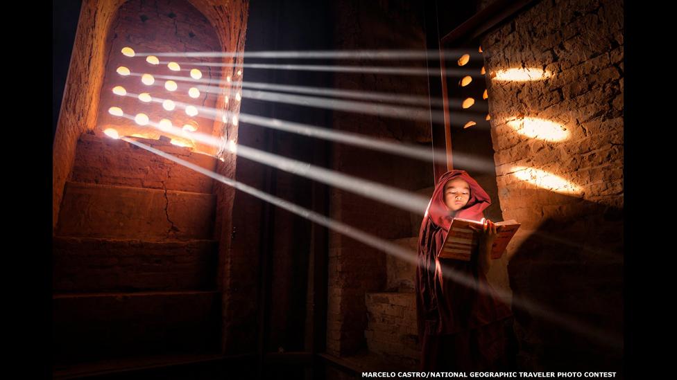 Луч света. Фото Марчело Кастро/National Geographic Traveller