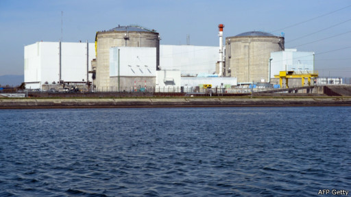 Nuclear plant in France (AFP/Getty)