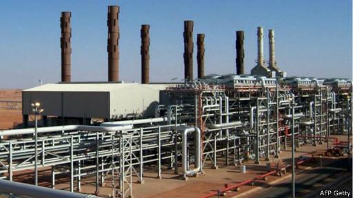 Usina de gás na Argélia (AFP/Getty)