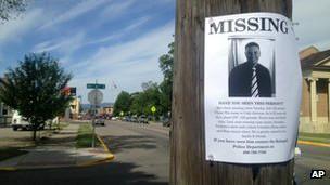 Johnson missing flyer