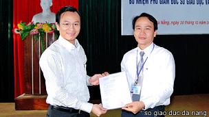 Ông Nguyễn Xuân Anh (trái)