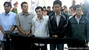Các bị cáo trong vụ ông Ngô Thanh Kiều