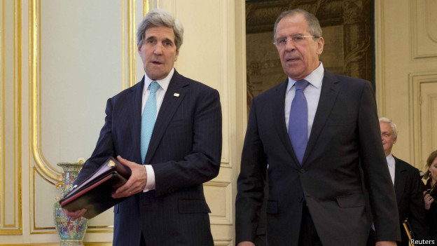 Reunião não põe fim a impasse entre EUA e Rússia quanto à Ucrânia
