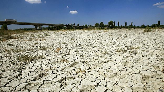 Sequía en Italia