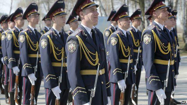 Парад украинской армии