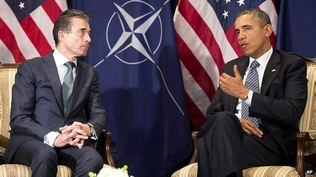 Расмуссен и Обама