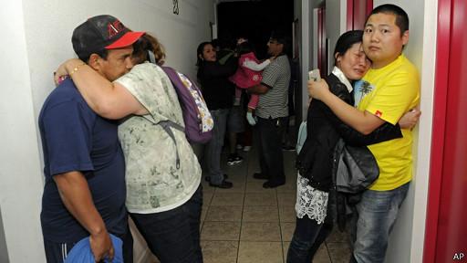 Residentes de Iquique