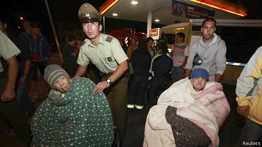 Evacuados Antofagasta