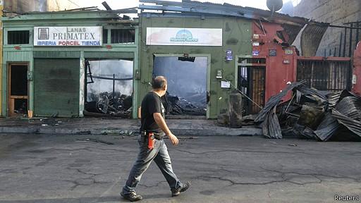 chile, iquique terremoto