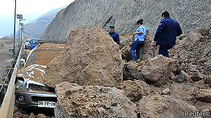Derrumbe en Iquique