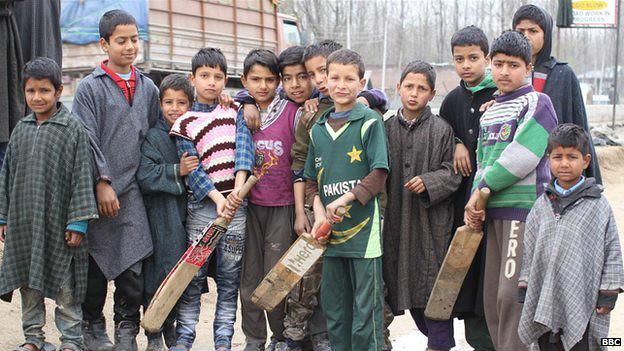 कश्मीरी बच्चे